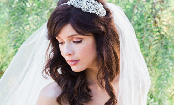 Good and natural order for the blushing bridal Charming wedding makeup