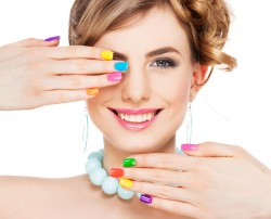 Waterless Manicure