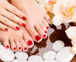 Hot Stone Pedicure